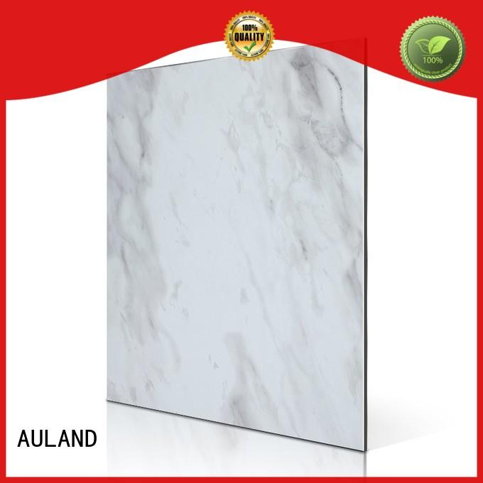 AULAND rc102s acp panel thickness 3D Wall Stickers Marble Brick Waterproof for factory buildings