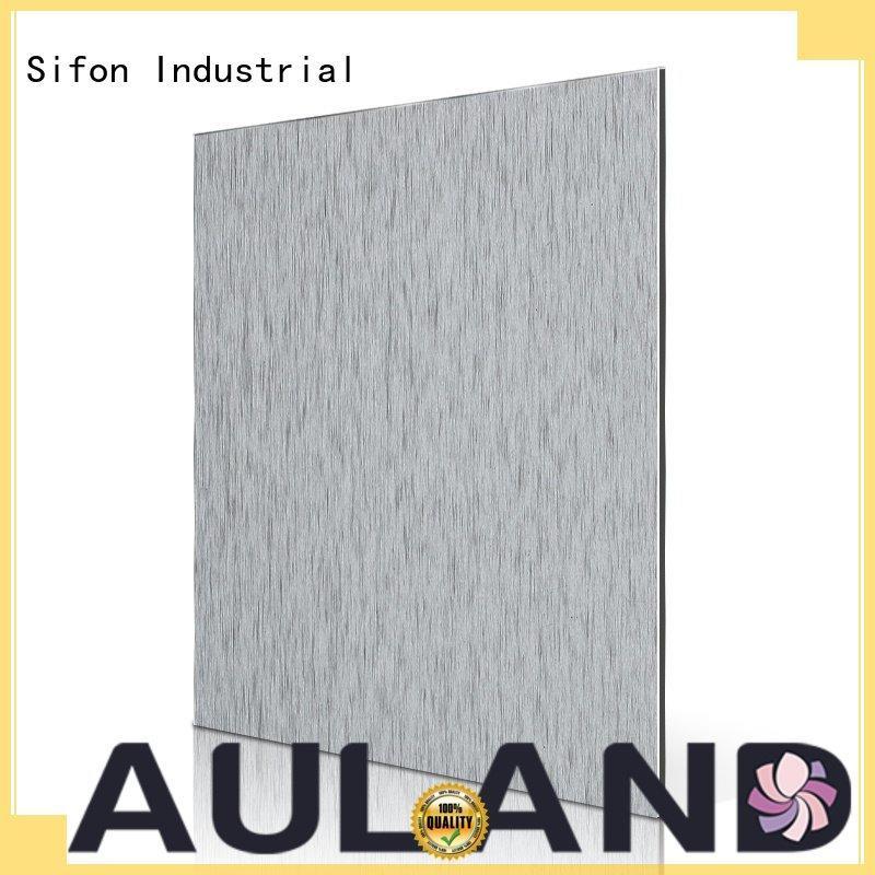 composite black Sifon aluminium composite panel singapore