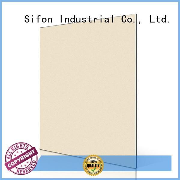 grey building aluminium composite panel cladding price AULAND Brand