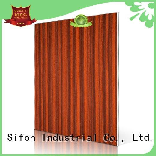 board emperador cherry Sifon aluminium composite panel china