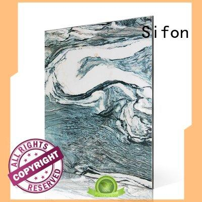 aluminium composite panel price list white purple aluminum Sifon